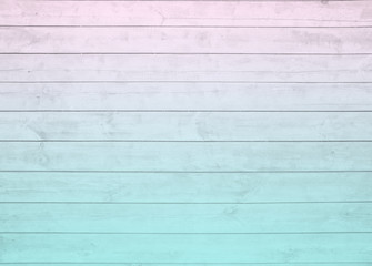 horizontal  panel  ombre blue pink  pale  pastel  wood