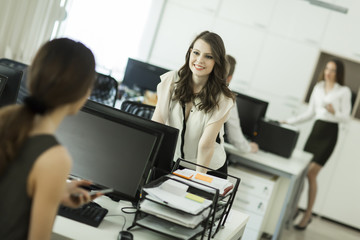 Women at the office