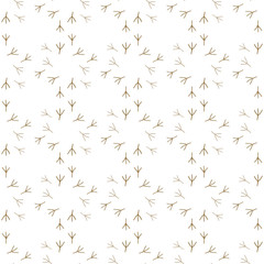 Print of birds vector. Seamless pattern background.