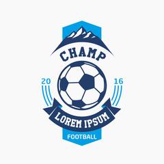 Logo football champ