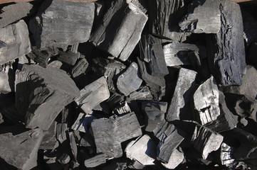 Уголь крупным планом