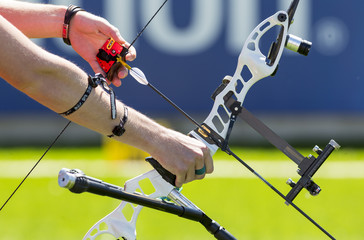Bow shooting hands only