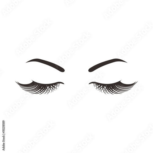 "realistic eye lash vector"" stock image and royalty-free vector"