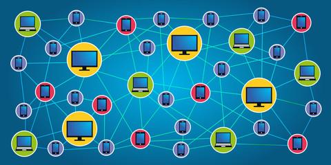 Réseau Informatique - connecté