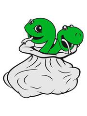 team sack bag caught few friends 2 sweet little cute child baby snakes comic cartoon