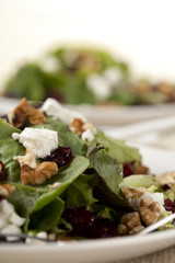a plate of ceasar salad