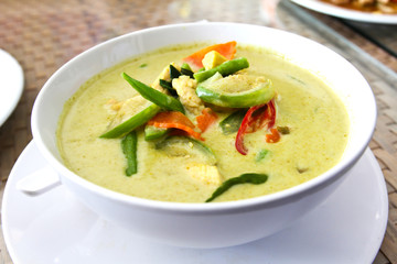 Green Chicken Curry,Thai cuisine