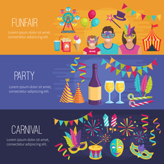 Carnival Flat Banners