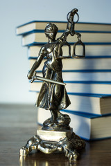 Statue of justice, Law concept,