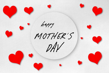 Mother day greeting card