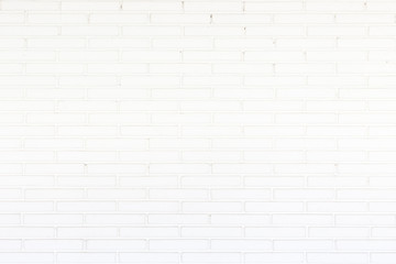 Abstract square white brick wall background