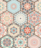 Rich Hexagon Tile Ornament