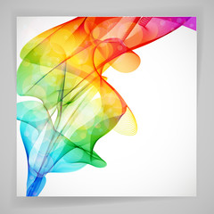 Multicolor abstract bright background. Elements for design.