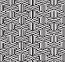 Geometric background, line design. Sacred geometry. Seamless pattern, vector illustration