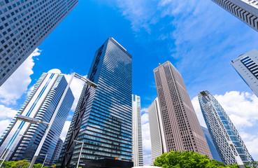 東京 西新宿の高層ビル群