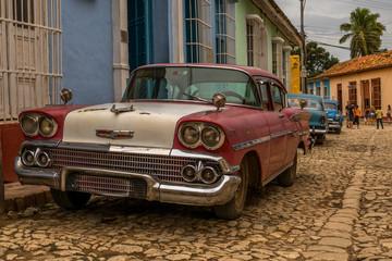 Auto in Kuba, Havanna, Trinidad