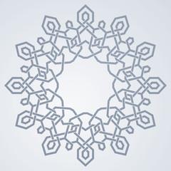 Arabic geometric ornament pattern