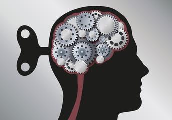 Cerveau - Engrenages  - Clé