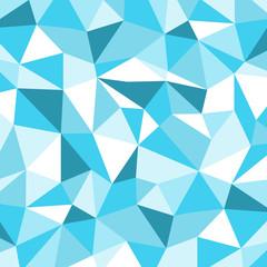 Blue Ice Mosaic Background, Vector illustration, Creative Busine