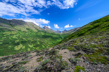 Rabbit Creek in the Chugach Mountains, Anchorage, Alaska