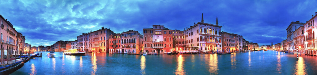 Canvas Prints Venice Grand Canal panorama, Venice, Italy