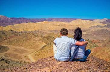 The romantic place in Eilat mountains