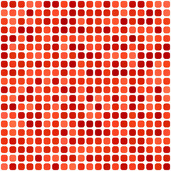 Red rounded square mosaic background