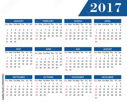 Л календарь на 2017
