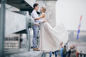 wedding day in Budapest
