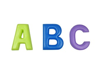 Colorful Alphabet Letters ABC