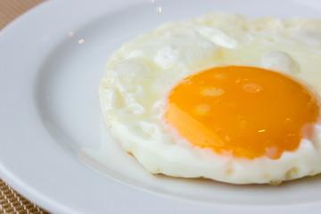 Close up Fried Egg
