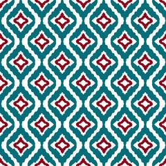 Ethnic boho seamless pattern. Ikat