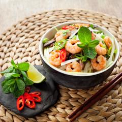 Vietnamese  noodle praws