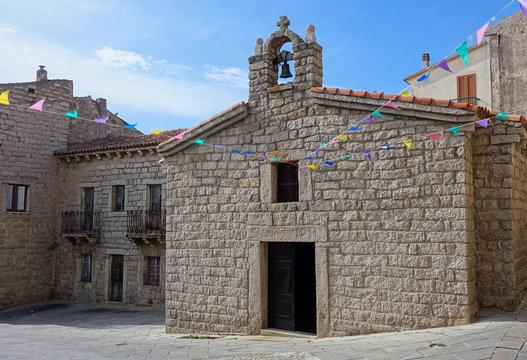 Saint Anna Church in Arzachena Sardinia