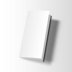 Brochure blank mockup