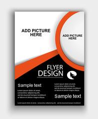Brochure Design - Flyer Template Vector