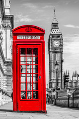 Telefonzelle in England