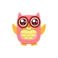 Pink Owl Wants A Hug