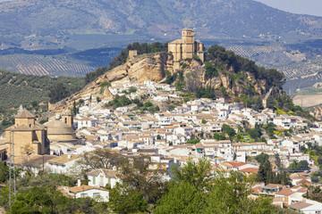 Montefrio village, Granada, Spain