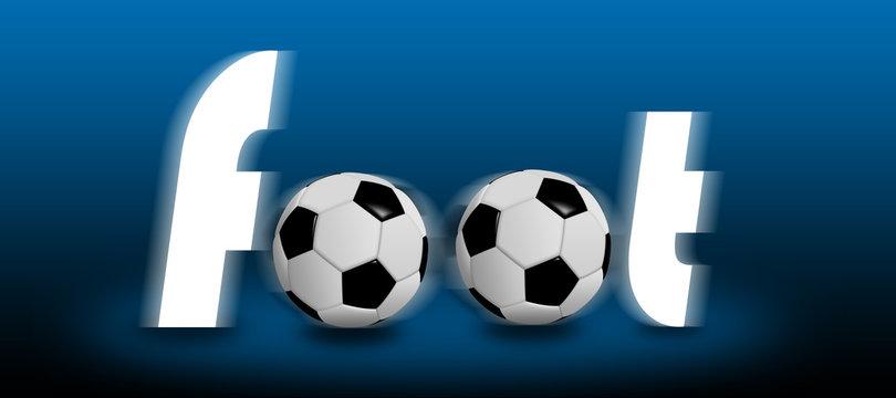 Foot 2018, football ballon ballons effet  symbole sport euro coupe du monde