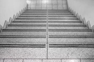 Treppenstufen abwärts