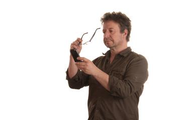 Mobiltelefon und Sehschwäche