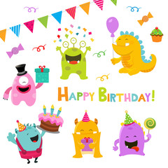Birthday Monsters Set