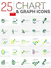 Collection of chart logos