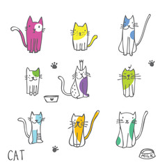 Cats - Freehand drawings