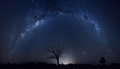 Milky way under an Australian sky