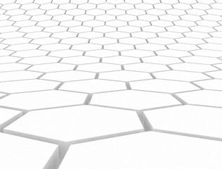 Hexagon 3d pattern