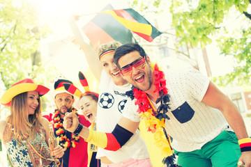Fans Fussball Deutschland Gruppe