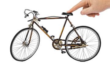Speelgoed fiets