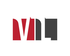 VL red square letter logo for landscape, law, leadership, learning, legal